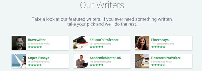 Really Good Essay Writers of Edusson.com